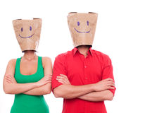 Blind date Royalty Free Stock Image