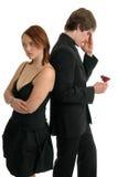 Blind-Date Lizenzfreies Stockbild