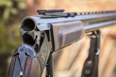 Blind de jachtgeweer royalty-vrije stock foto