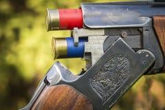 Blind de jachtgeweer royalty-vrije stock foto's