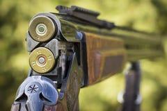 Blind de jachtgeweer stock fotografie