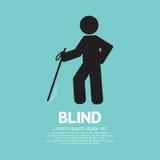 Blind Disabled Black Symbol Royalty Free Stock Images
