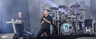 Blind Guardian live in Hellfest festival 2016 Royalty Free Stock Images