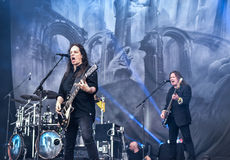 Blind Guardian live in Hellfest festival 2016 Stock Images