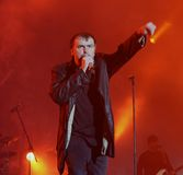 Blind Guardian on Masters of Rock. Festival 2009, Vizovice, Czech republic Royalty Free Stock Image