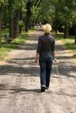 blind kvinna Royaltyfria Bilder