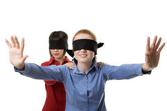 Blind leading the blind Stock Photography