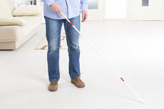 Blind man Stock Photography