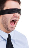 Blind management. Stock Images