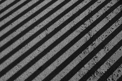 Blind shadow on black background Royalty Free Stock Images