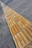 Blind sidewalks Royalty Free Stock Photos