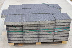 Blind stone pavement Stock Photos