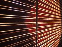 Blind venster Royalty-vrije Stock Foto's