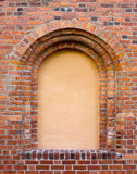 Blind Window in the old brick wall Royalty Free Stock Image