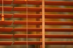 blind window wooden Στοκ φωτογραφία με δικαίωμα ελεύθερης χρήσης