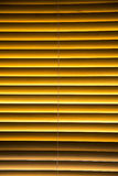 Blind with wooden slats Stock Images