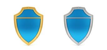 Blindaje azul Fotos de archivo libres de regalías