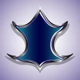 Blindaje azul Fotografía de archivo libre de regalías