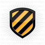 Blindaje de la seguridad Fotos de archivo libres de regalías