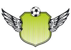 Blindaje del fútbol stock de ilustración
