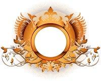 Blindaje ornamental stock de ilustración