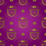 Blindaje púrpura Imagenes de archivo