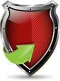 Blindaje rojo Imágenes de archivo libres de regalías