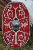 Blindaje romano del legionario Imagenes de archivo