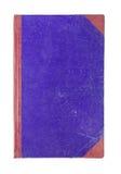 Blinddeckelbuch lokalisiert auf weißem Hintergrund Stockfotografie