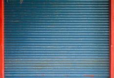 Blinddeur of rollende deur Royalty-vrije Stock Fotografie
