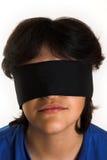 Blinddoek Stock Foto