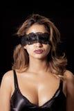 Blinddoekvrouw Royalty-vrije Stock Afbeeldingen
