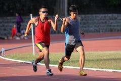 Blinde Athleten Lizenzfreie Stockbilder
