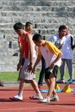Blinde Athleten Lizenzfreies Stockbild