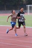 Blinde athletes Stock Images