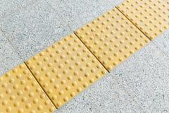 Blinde Bodenfliesen Lizenzfreie Stockbilder