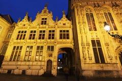 Blinde-Ezelstraat no quadrado do Burg Foto de Stock Royalty Free