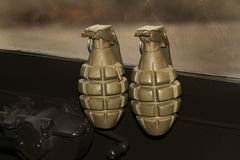 Blinde Granaten der Hand WW2 Lizenzfreies Stockbild
