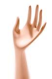 Blinde Hand Lizenzfreie Stockfotos