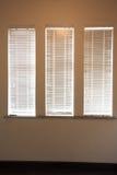 Blinde het venster van de muur Royalty-vrije Stock Foto
