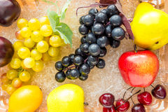 Blinde reife Früchte und Beerennahaufnahme Lizenzfreies Stockbild