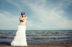 Blinde Schönheit Lizenzfreies Stockfoto