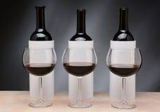Blinde Weinprobe Stockbild