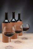 Blinde Weinprobe Lizenzfreie Stockbilder