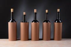 Blinde Weinprobe Stockfotos