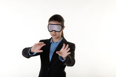 Blinded in business Royalty Free Stock Photo