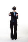 Blinded in business Stock Photography