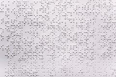 blindenschrift Lizenzfreie Stockbilder