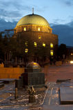 Blindenschrift-Baumuster mit ursprünglicher Moschee Lizenzfreie Stockfotografie