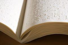 Blindenschrift-Buch Stockbilder